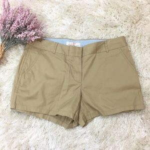 J.Crew Khaki Chino Broken In Shorts - NWT